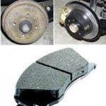Tarif changement plaquette de frein et disque