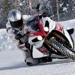 Pneu hiver moto