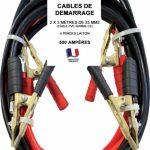 Pince pour cable de demarrage diesel